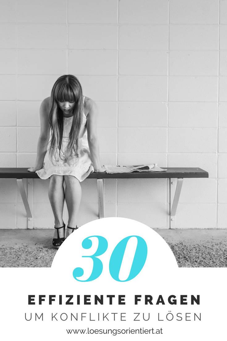 30 Fragen um einen Konflikt zu lösen